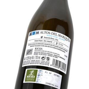 ADM Blanco - Detalle etiqueta