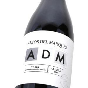 ADM Crianza - Detalle etiqueta