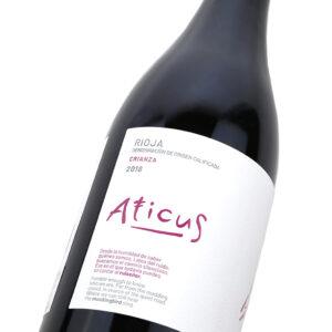 Aticus Crianza - Detalle etiqueta