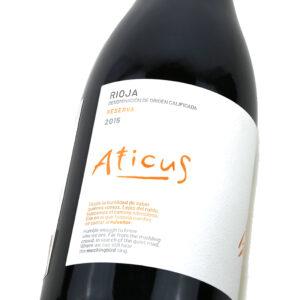 Aticus Reserva - Detalle etiqueta