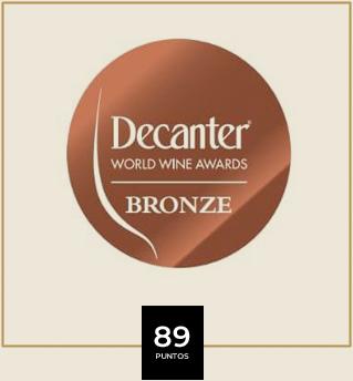 Premio vino - Decanter Bronze