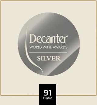 Premio vino - Decanter Silver