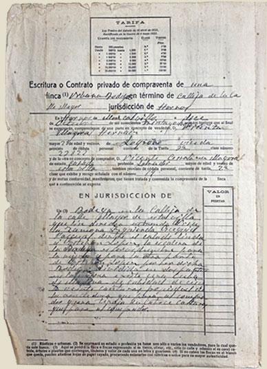 Escrituras Bodegas Cerrolaza